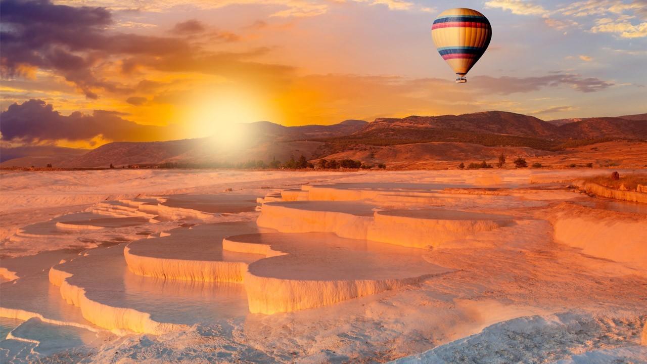 Pamukkale Hot Air Balloon Ride
