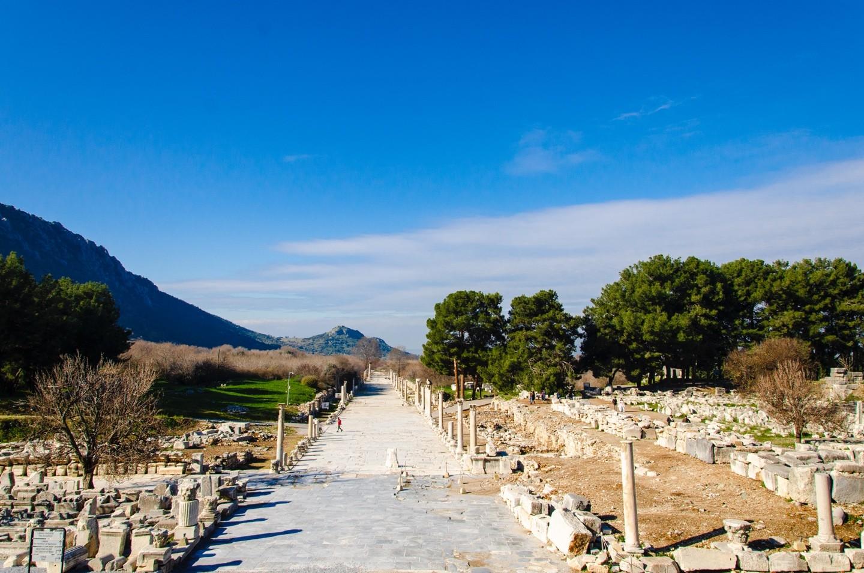 Kusadasi Port to Ephesus Ruins, Temple of Artemis