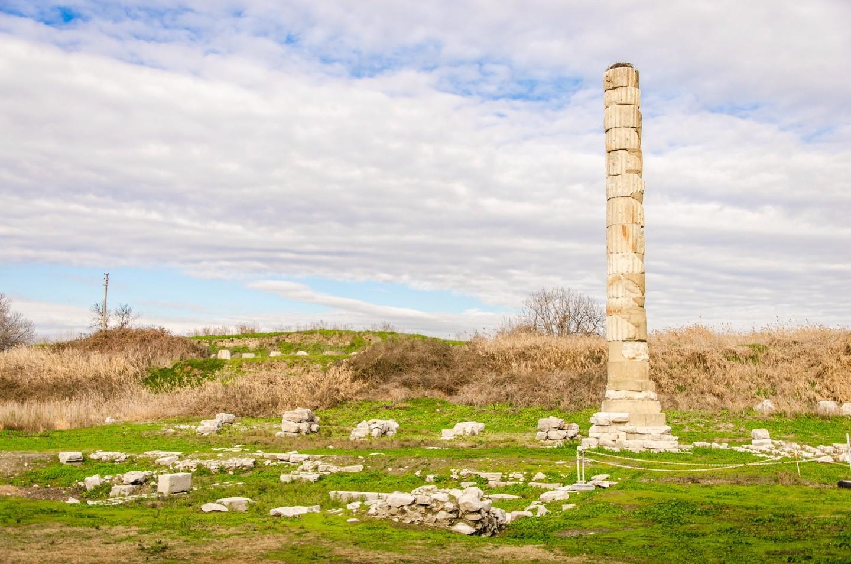 Kusadasi Port to Sirince Village, Temple of Artemis, Ephesus Ruins